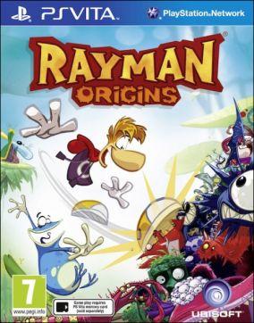 Copertina del gioco Rayman Origins per PSVITA