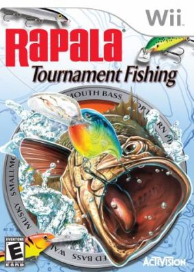 Copertina del gioco Rapala Tournament Fishing per Nintendo Wii