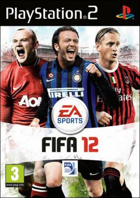 Immagine della copertina del gioco FIFA 12 per Playstation 2