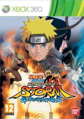 Copertina del gioco Naruto Shippuden: Ultimate Ninja Storm Generations per Xbox 360