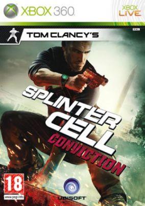 Immagine della copertina del gioco Splinter Cell: Conviction per Xbox 360