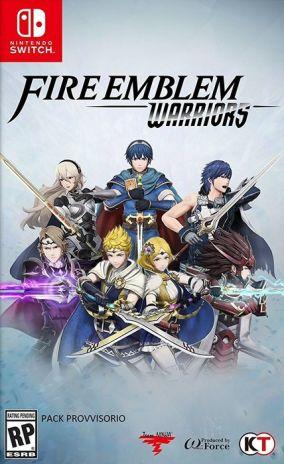 Copertina del gioco Fire Emblem Warriors per Nintendo Switch