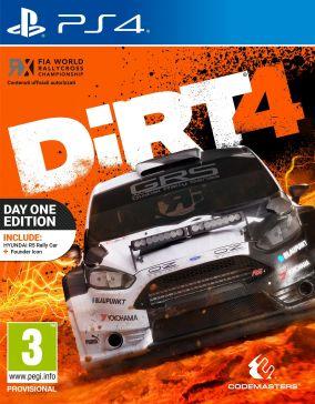Copertina del gioco DiRT 4 per Playstation 4