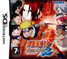 Copertina del gioco Naruto: Ninja Council 2 - European Version per Nintendo DS