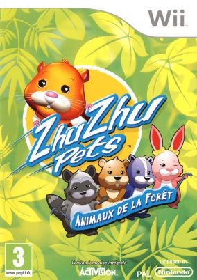 Copertina del gioco Zhu Zhu Pets: Featuring The Wild Bunch Collector's Edition per Nintendo Wii