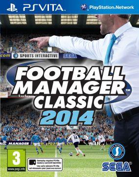 Copertina del gioco Football Manager Classic 2014 per PSVITA