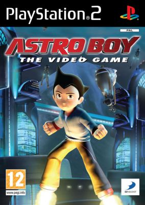 Copertina del gioco Astro Boy: The Video Game per Playstation 2