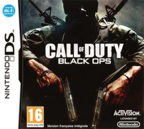 Immagine della copertina del gioco Call of Duty Black Ops per Nintendo DS