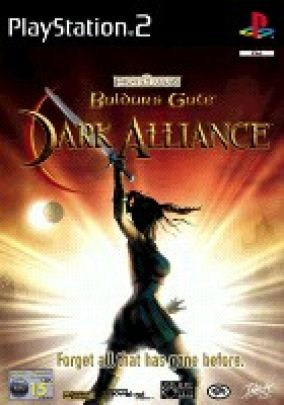 Copertina del gioco Baldur's Gate: Dark Alliance per Playstation 2