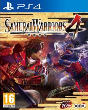 Copertina del gioco Samurai Warriors 4 per Playstation 4