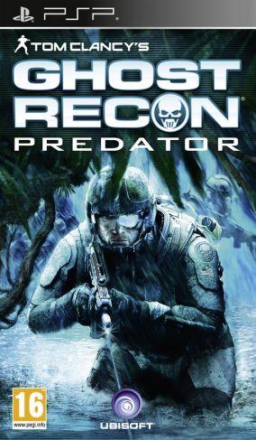 Copertina del gioco Ghost Recon: Predator per Playstation PSP