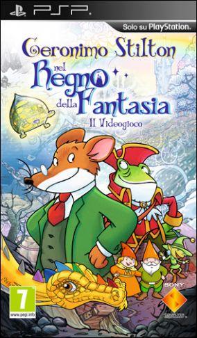 Immagine della copertina del gioco Geronimo Stilton per Playstation PSP
