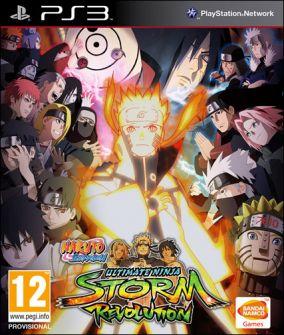 Copertina del gioco Naruto Shippuden: Ultimate Ninja Storm Revolution per Playstation 3