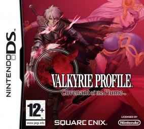 Copertina del gioco Valkyrie Profile: Covenant of the Plume per Nintendo DS
