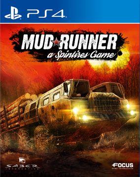 Immagine della copertina del gioco Spintires: MudRunner per Playstation 4