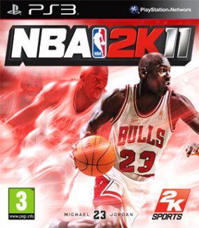 Immagine della copertina del gioco NBA 2K11 per Playstation 3