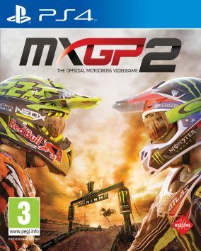 Immagine della copertina del gioco MXGP 2: The Official Motocross Videogame per Playstation 4