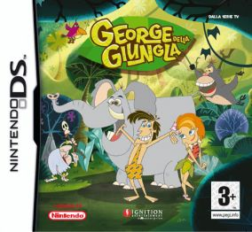 Copertina del gioco George Della Giungla per Nintendo DS