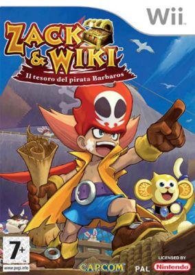 Copertina del gioco Zack & Wiki: Il tesoro del pirata Barbaros per Nintendo Wii