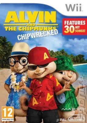 Immagine della copertina del gioco Alvin & The Chipmunks per Nintendo Wii