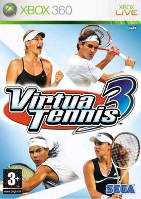 Copertina del gioco Virtua Tennis 3 per Xbox 360