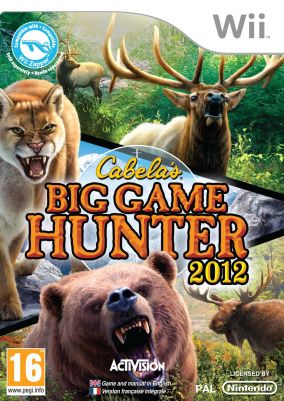 Copertina del gioco Cabela's Big Game Hunter 2012 per Nintendo Wii