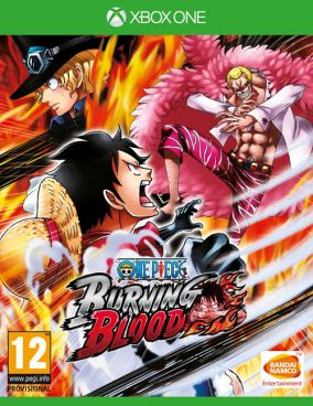 Copertina del gioco One Piece: Burning Blood per Xbox One