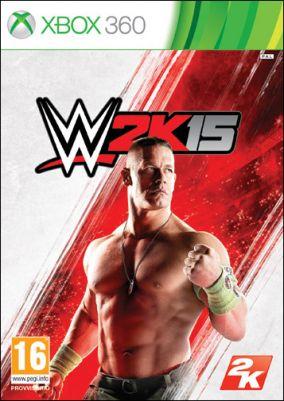 Copertina del gioco WWE 2K15 per Xbox 360