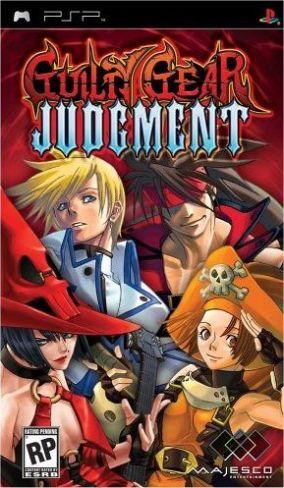 Immagine della copertina del gioco Guilty Gear Judgment per Playstation PSP