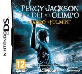 Copertina del gioco Percy Jackson e Gli Dei dell'Olimpo: Il Ladro di Fulmini per Nintendo DS
