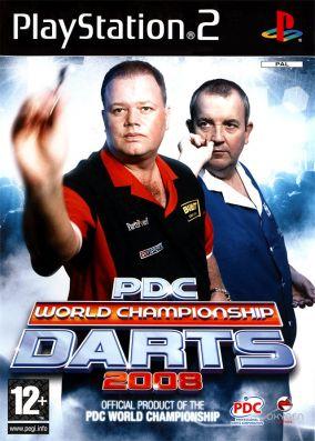 Copertina del gioco PDC World Championship Darts 2008 per Playstation 2