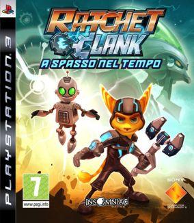 Immagine della copertina del gioco Ratchet & Clank: A Spasso nel Tempo per Playstation 3