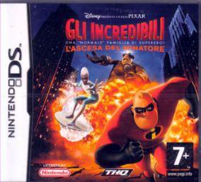 Immagine della copertina del gioco Gli Incredibili: L'Ascesa del Minatore per Nintendo DS