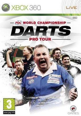 Copertina del gioco PDC World Championship Darts: Pro Tour per Xbox 360