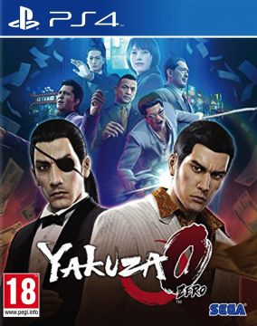 Copertina del gioco Yakuza Zero: The Place of Oath per Playstation 4