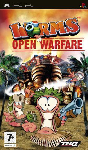 Immagine della copertina del gioco Worms: Open Warfare per Playstation PSP