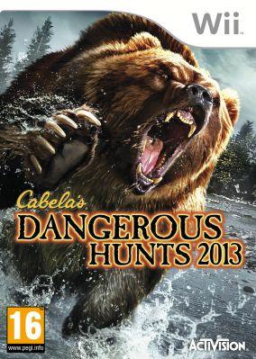 Copertina del gioco Cabela's Dangerous Hunts 2013 per Nintendo Wii