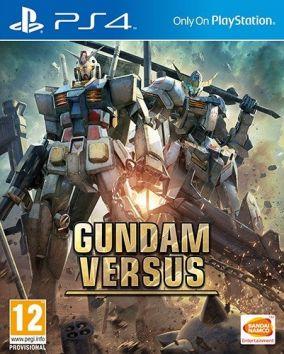 Copertina del gioco Gundam Versus per Playstation 4