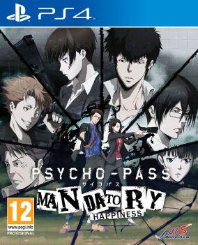 Immagine della copertina del gioco PSYCHO-PASS: Mandatory Happiness per Playstation 4