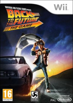 Copertina del gioco Back to the Future: The Game per Nintendo Wii