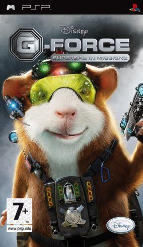 Copertina del gioco G-Force per Playstation PSP