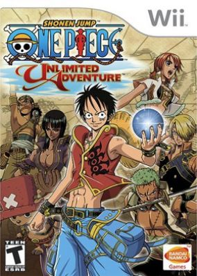 Copertina del gioco One Piece: Unlimited Adventure per Nintendo Wii