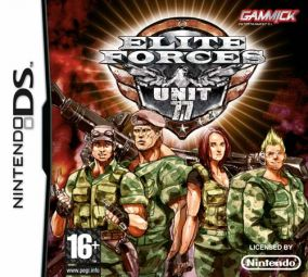 Copertina del gioco Elite Forces: Unit 77 per Nintendo DS