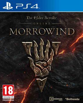 Copertina del gioco The Elder Scrolls Online: Morrowind per Playstation 4
