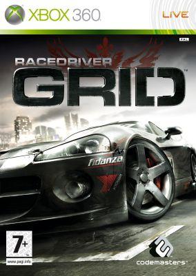 Copertina del gioco Race Driver: GRID per Xbox 360
