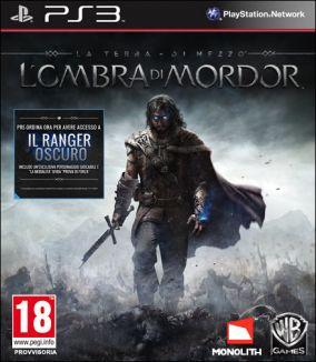 Copertina del gioco La Terra di Mezzo: L'Ombra di Mordor per Playstation 3