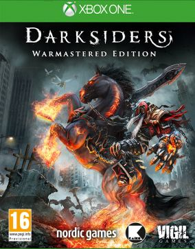 Copertina del gioco Darksiders: Warmastered Edition per Xbox One
