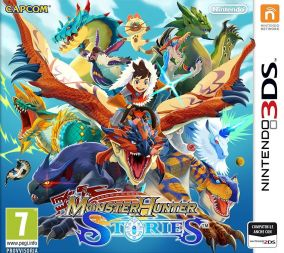 Copertina del gioco Monster Hunter Stories per Nintendo 3DS