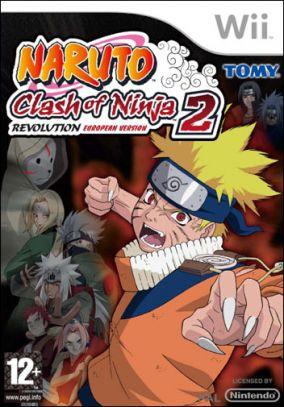 Copertina del gioco Naruto: Clash of Ninja Revolution 2 per Nintendo Wii