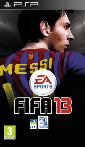 Immagine della copertina del gioco FIFA 13 per Playstation PSP